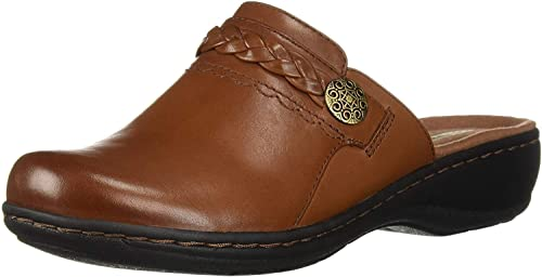 : CLARKS Leisa Carly zueco para mujer: Shoes