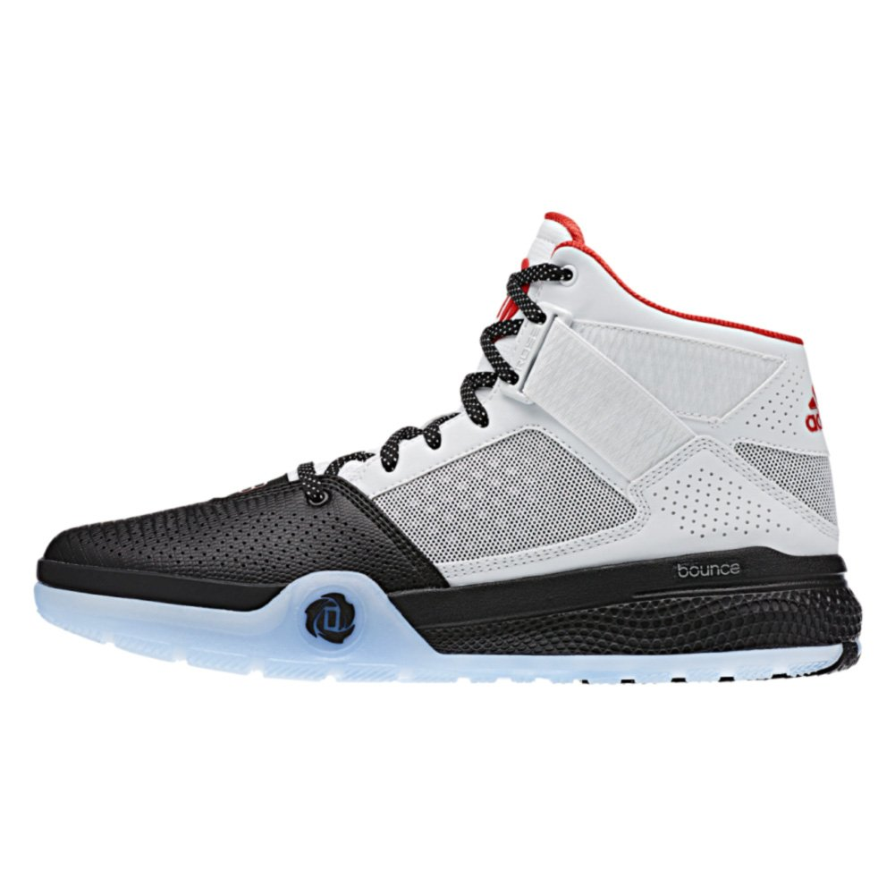 5ffe1f115e14 Adidas D Rose 773 IV Mens Basketball Shoe 18 White-Scarlet-Black   Amazon.ca  Shoes   Handbags