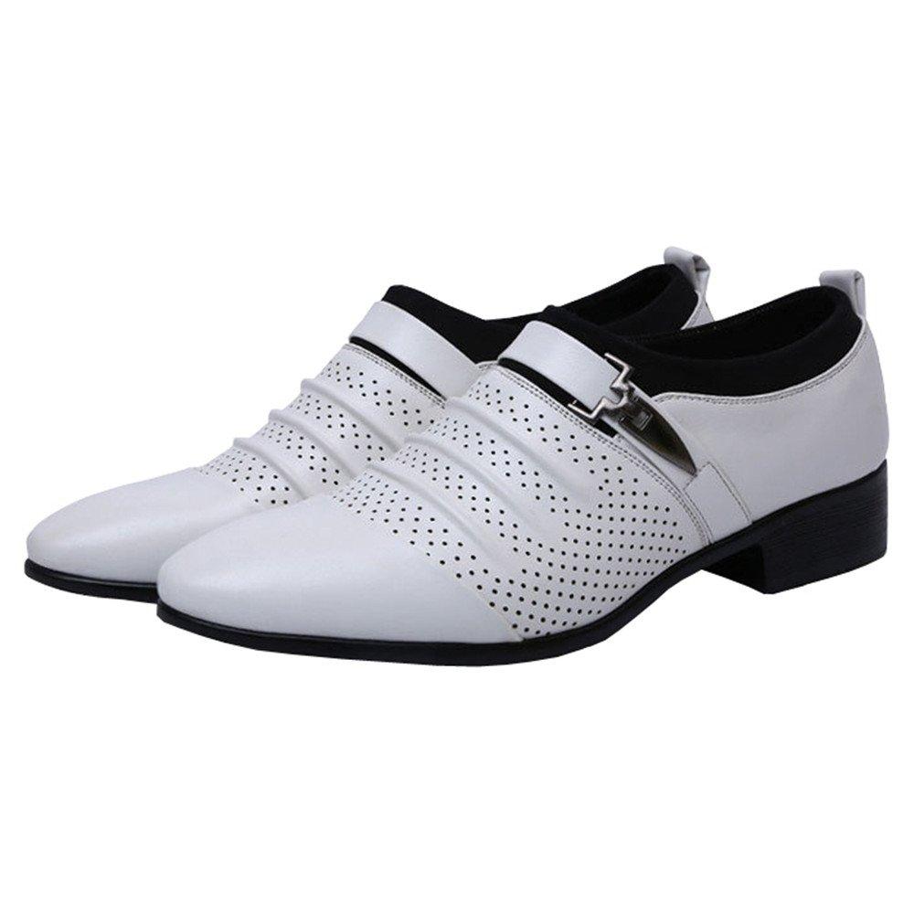 [missfiona] メンズ Dressshoes26_a00 ホワイト B078ZBJV86