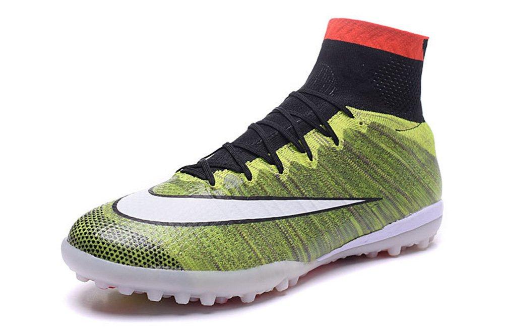 Mercurialx Proximo tf-mens grün High Top Fußball Schuhe Fußball Stiefel