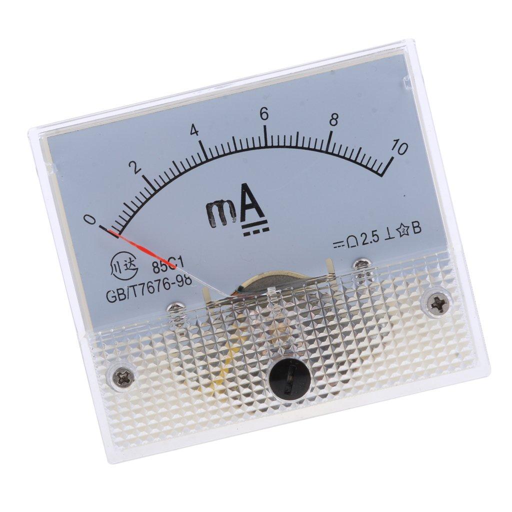 joyMerit 16 Type Gamme DC Analogique Amp/èrem/ètre Amp/èrem/ètre Panneau Actuel Amp/èrem/ètre Pr/écision Classe 2,5 Amp/èrem/ètre 0-1ma