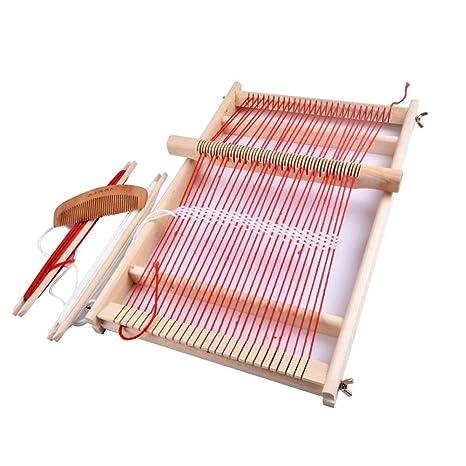 Amazon Com Luckycyc Weaving Loom Kit Boys Hand Woven Diy