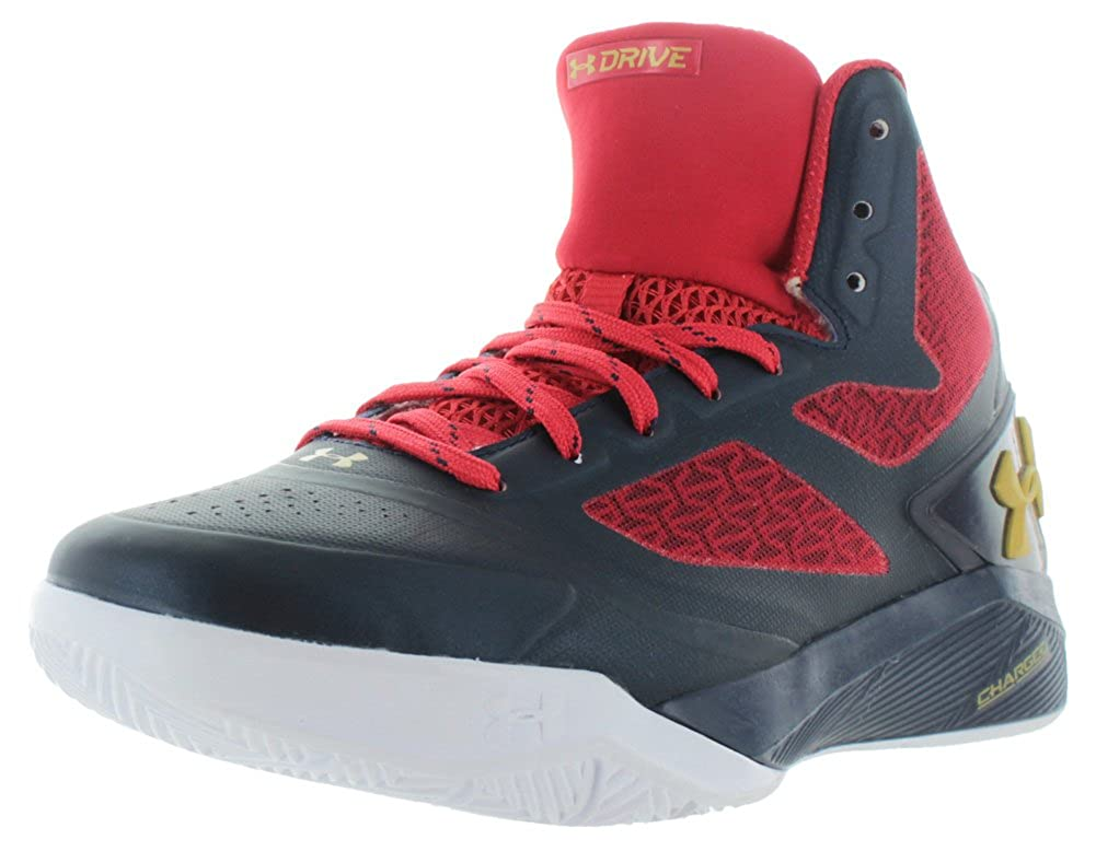 half off 7ea2b ecfc0 Under Armour Mens UA ClutchFit Drive 2 Basketball Shoes 9.5 Midnight Navy