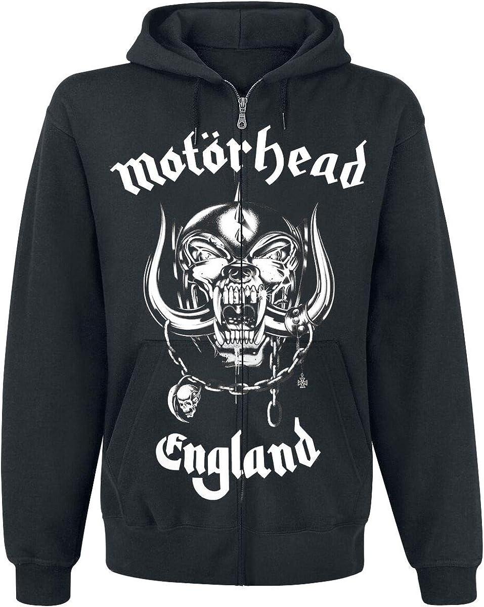 Mot/örhead England Kapuzenjacke schwarz XXL