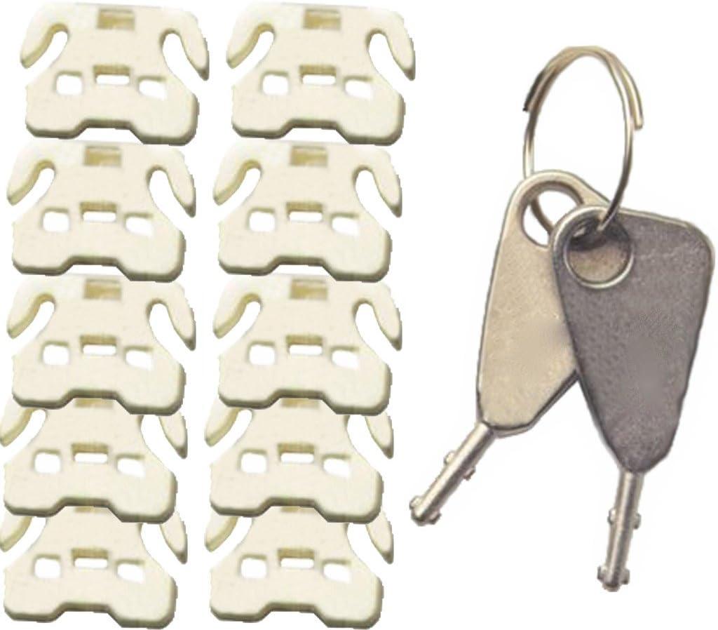 FJM Security FJM-0916 USB Port Lock 10 Pack