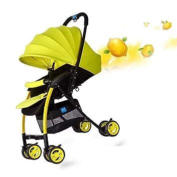 Littlefairy Sillas de Paseo,Carro de bebé, Tubo de Aluminio, Cochecito de bebé Ligero, reclinable, Sentado, con una Sola Mano, Coche: Amazon.es: Hogar