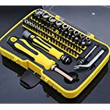 70 in 1 Precision Magnetic Screwdriver Tool Set, Convenient Rugged and Flexible Household Repair Tool Kit for Various Electrical Appliances (Hand tool set)