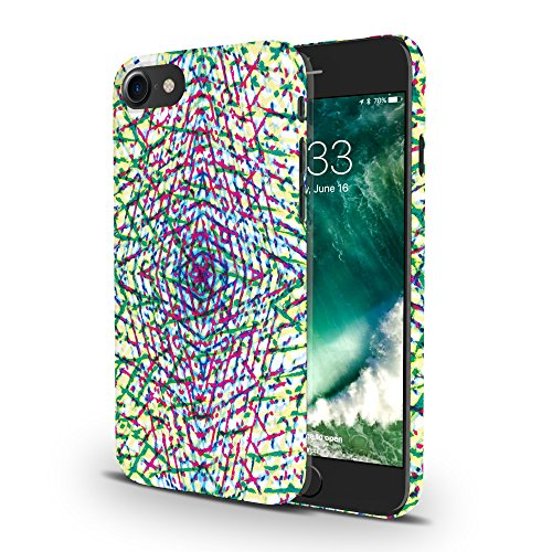 Koveru Back Cover Case for Apple iPhone 7 - Horses abstract