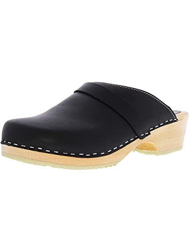 4cb5929f54bf0 Lotta From Stockholm Torpatoffeln Swedish Clogs   Classic Clog in Wax Tan  Leather 5 B(