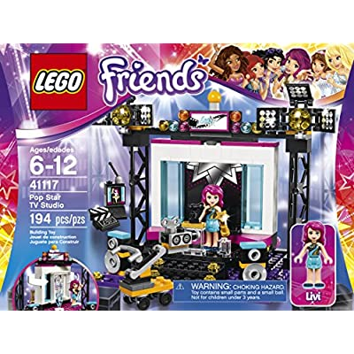 LEGO Friends Pop Star TV Studio 41117: Toys & Games
