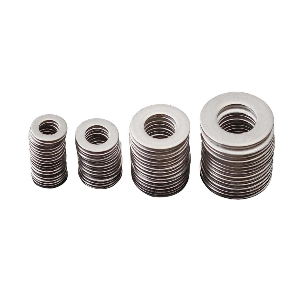 T.K Excellent A-N Flat Washer SAE DIN125 Flat Washer Zinc Plated Assortment Kit,300Pcs