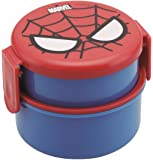 Spider-Man Round lunch box two-stage ONWR1 (japan import) by Skater