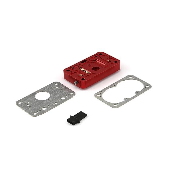 Sold in Pairs Billet Aluminum 4 Barrel Carburetor 3-Circuit Metering Block