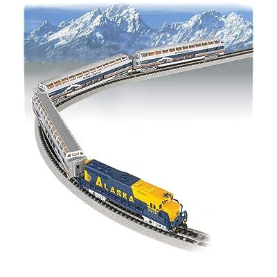 Bachmann Trains - McKinley Explorer Ready To Run Electric Passenger Train Set - N Scale: Toys & Games