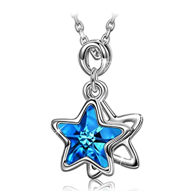PAULINEMORGEN Star Necklaces For Women Daughter Girls Girlfriend Her Birthday Gifts