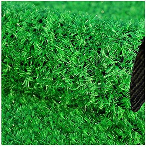YNGJUEN 高品質合成人工芝、15 mmパイル高、高密度ホリデー芝生芝生、リアルなガーデンドッグローン (Size : 2x9m)