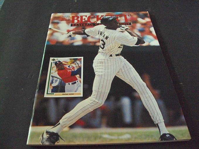 Beckett Football Card Monthly Apr 1994109 Michael Jordan Cover At