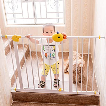 L.ORE Barrera de Seguridad para bebés, Bar, Valla de Escalera para bebés, Valla para Mascotas, Valla para Perros, Aislamiento sin Perforaciones: Amazon.es: Hogar