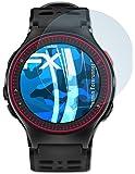 Garmin Forerunner 225 Pellicola Protettiva - 3 x atFoliX FX-Clear ultra trasparente Protezione Pellicola dello Schermo