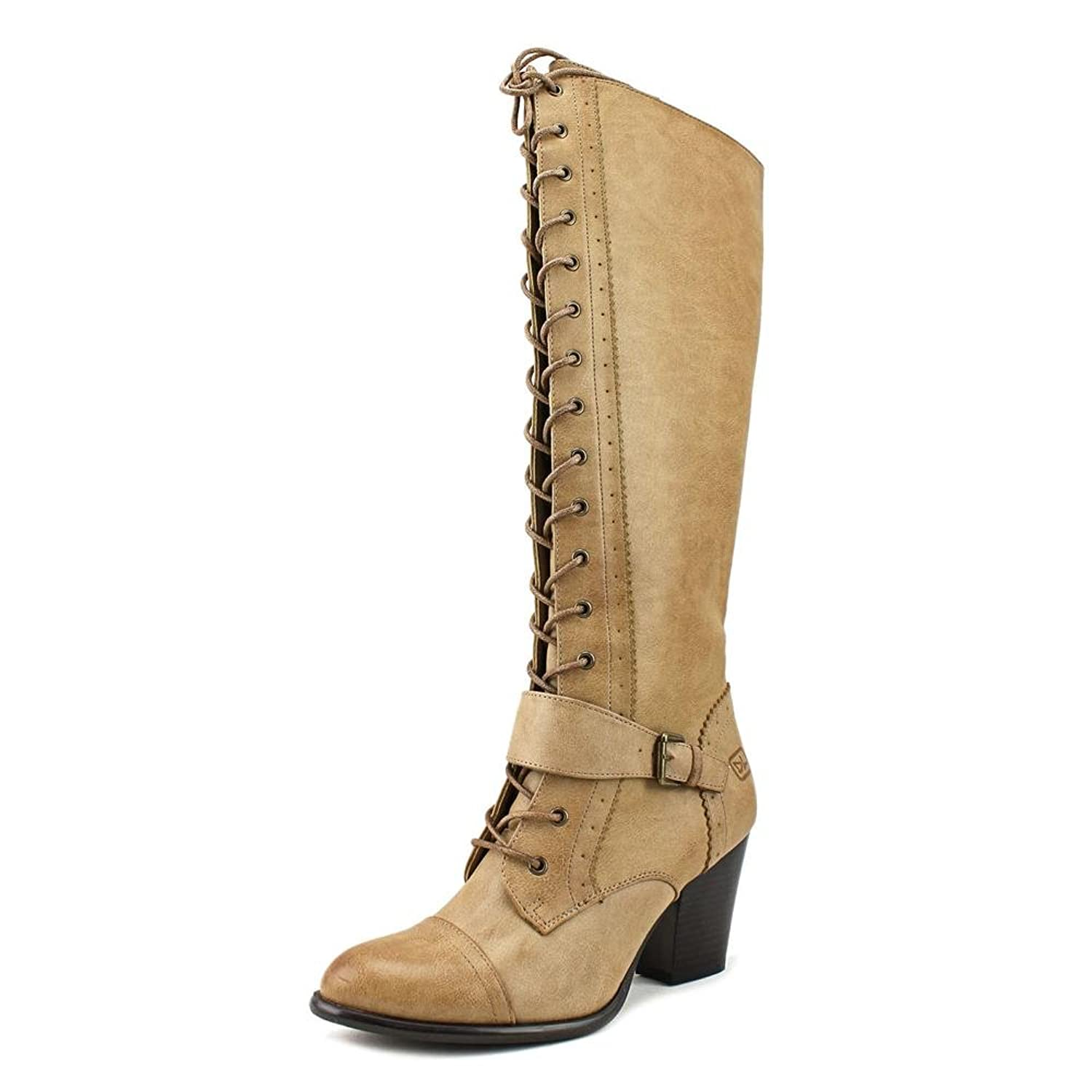 Dirty Laundry Whiskers Round Toe Synthetic Knee High Boot