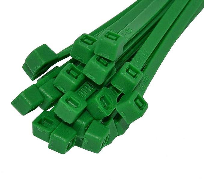 Kabelbinder farbig in Industriequalität 4,8x200 mm in BRAUN 1000 Stück