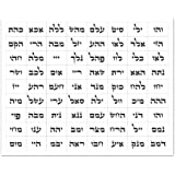 photograph about Names of God Chart Printable named : BUCKIE IY Canvas Imagine Frames 72 Names of God