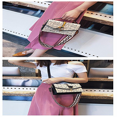 Pink Body Cross Shoulder Shoulder Large Leather Small MSZYZ with Bags Vintage Shoulder Women's PU Soft Clutch Many Casual Capacity Pockets Wristlet zxp1FqR