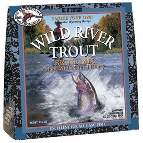 Hi Mountain Seasonings Wild River Trout Brine Kit