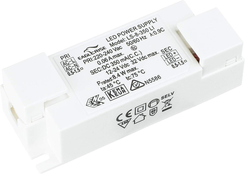HuaTec Eaglerise Transformateur LED 900mA 40W Sans Scintillement Courant Constant pour Lampe de LED Bloc dAlimentation Driver LED