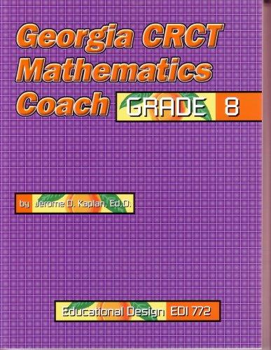 Georgia CRCT Mathematics Coach, Grade 8 (EDI 772) ebook