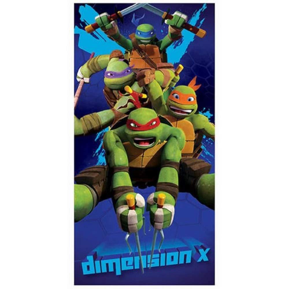 TMNT - Toalla de Playa Tortugas Ninja Dimension X (Algodón)
