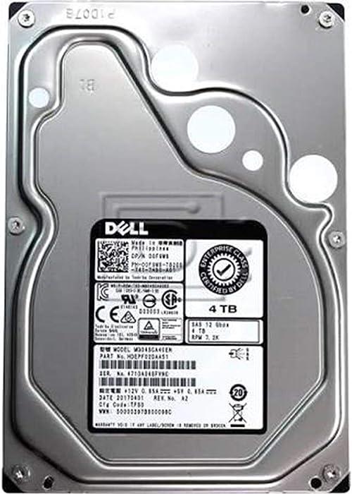 "N36YX - DELL ENTERPRISE CLASS 4TB 7.2K SATA 3.5"" 6Gb/s HARD DRIVE WITH X968D TRAY/CADDIE"