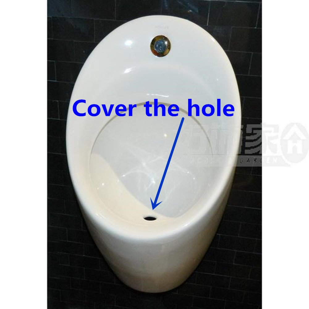 Commercial Washout Urinal With Top Spud Filter funnel,Leaky cover,ceramics,White,Chrome finish Peterbell Strive Urinal Strainer Ceramics731
