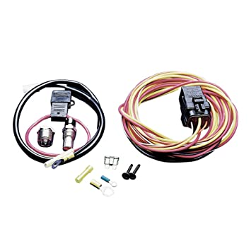 amazon com spal 185fh cooling fan harness relay automotive spal 185fh cooling fan harness relay