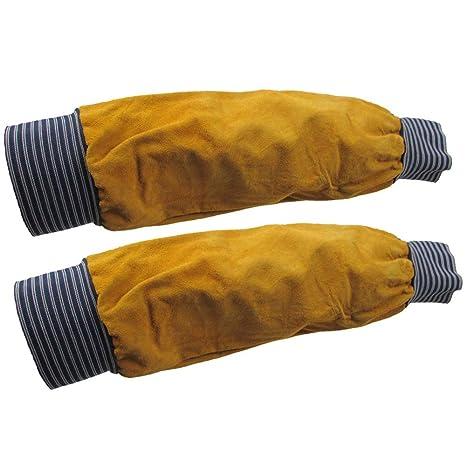 ZPL Manguitos de Brazo de Soldadura Resistente al Calor Manguito elástico Trabajo de Seguridad Protector de