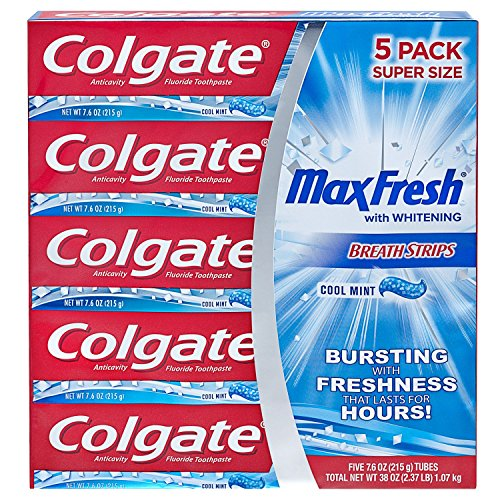 othpaste with Breath Strips- Cool Mint - 7.8 ounce (3 Pack) ()