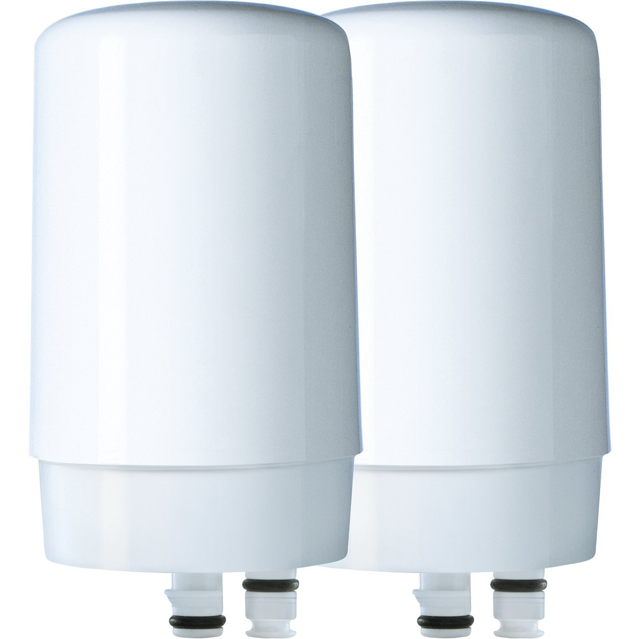 Brita Tap Water Filtration System Replacement Filters for Faucets - White - 2 Count by Brita