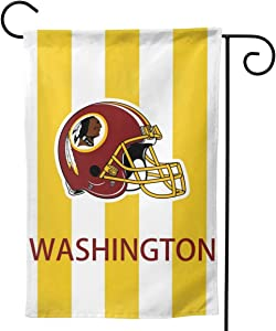 Fantastic Tees Washington Garden Flag,Double-Sided Printing Thick Flag Banner,Outdoor Decoration