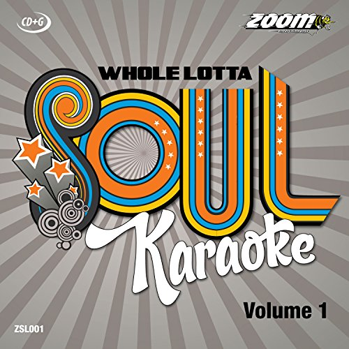 Zoom Karaoke CD+G - Whole Lotta Soul And Motown - Volume 1 [Card ()