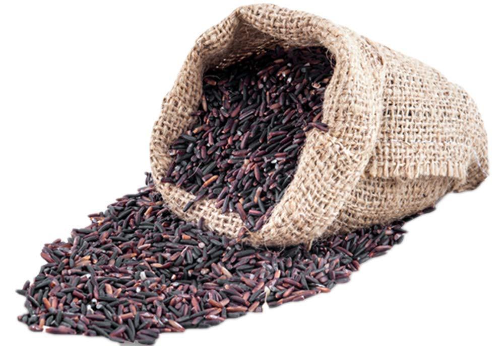 Riceberry Premium Organic Thai Rice 100% Natural in Vacuum Bag 2.2 Lbs