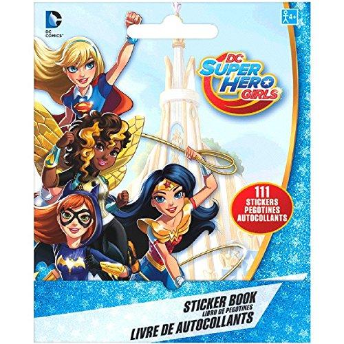 Superhero Girls Sticker Booklet Favour