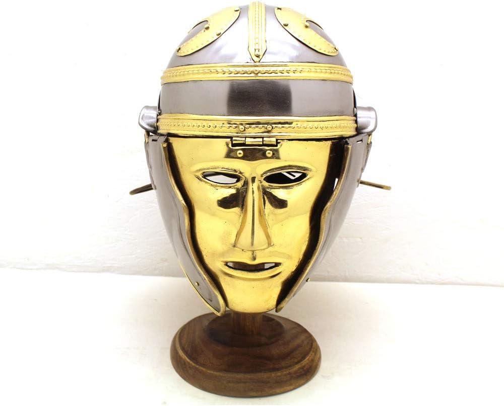 中世戦士ブランド インペリアル Gallic Face Roman ヘルメット