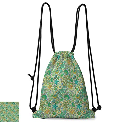 Amazon.com | Yoga backpack Nautical Decor Collection Cute ...
