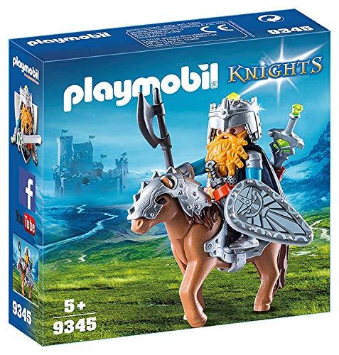 (PLAYMOBIL® - Dwarf Kingdom: Dwarf Fighter with Pony)