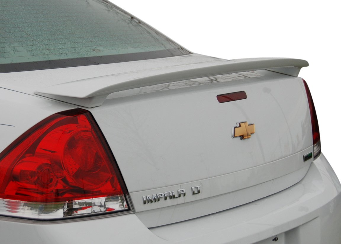 Factory Style Spoiler for the Impala Painted in the Factory Paint Code of Your Choice 324 Black 8555 Spoiler and Wing King ®