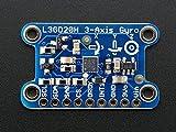 Adafruit (PID 1032) L3GD20H Triple-Axis Gyro Breakout Board - L3GD20/L3G4200 Upgrade - L3GD20H