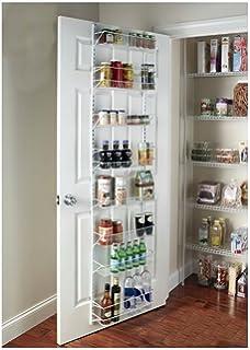 G R Gracelove Over The Door E Rack Wall Mount Pantry Kitchen 8 Tier Cabinet Organizer