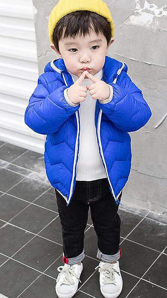 SMITHROAD Baby-Kapuzen Daunenjacke mit Kapuze Babyjacken Kinderkleidung Niedlicher B/är Winter M/äntel Jungen Madchen Schneeanz/üge Outfits 7 Farbe