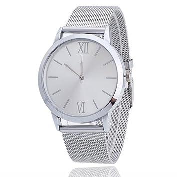 Amazon.com: FUNIC, reloj femenino, reloj pulsera de acero ...
