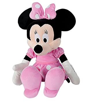 SIMBA 6315879078 Disney Mickey Mouse Club House Basic - Peluche de Minnie (43 cm)